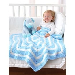 Star Blanket in Bernat Pipsqueak