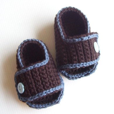 Sporty-Casual Baby Sandals