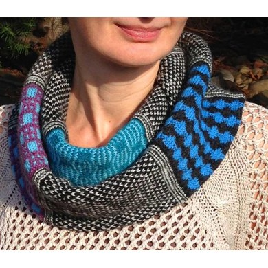 ColorBand Cowl