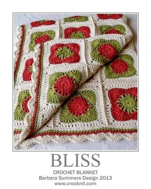 Crochet Blanket BLISS USA