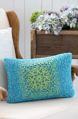 Mod Granny Pillow Front in Aunt Lydia's Baker's Cotton - LC3859 - Downloadable PDF