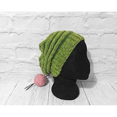 Cool Circles Slouch Hat