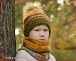 The Woodland Beanie and Cowl