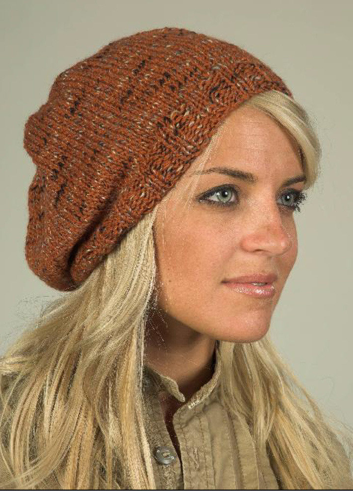 Hat In Plymouth Coffee Beenz F346 Knitting Patterns