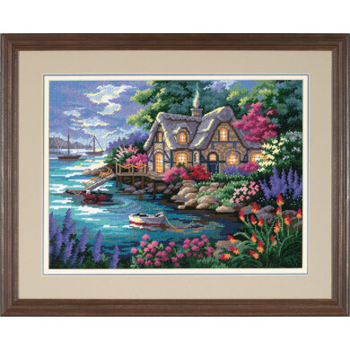 Dimensions Cottage Cove Tapestry Kit - 41 x 30 cm