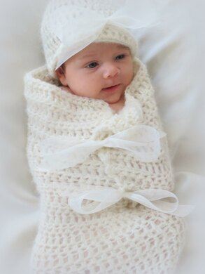 Cocoon and Hat Baby Bows