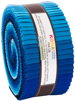 Robert Kaufman Kona Cotton Solids 2.5in Strip Roll - RU-782-40