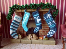 1:12th scale Christmas stockings
