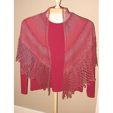 Love Affair in Lace Shawl