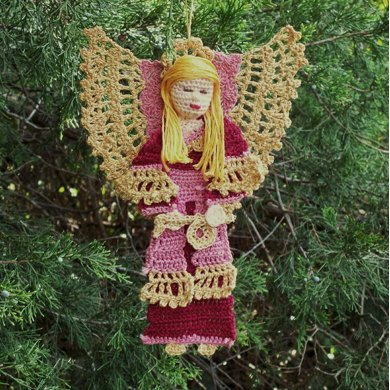 Angel Christmas Ornament or guadian angel decoration