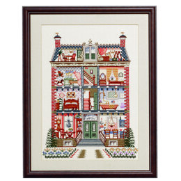 Pako Dolls House Cross Stitch Kit - 49cm x 64cm