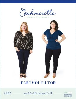 Cashmerette Dartmouth Top 2202 - Sewing Pattern