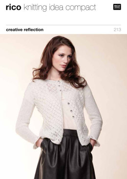 Cardigan & Bolero in Rico Creative Reflection - 213