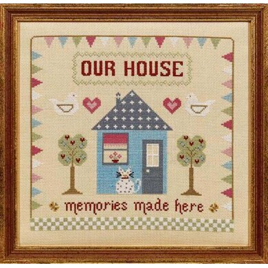 Historical Sampler Company Memories Made Here Cross Stitch Kit