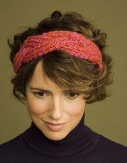 Braided Headband in Lion Brand Wool-Ease