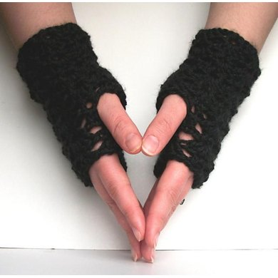 Short Shell Lace Gloves