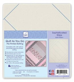 June Tailor Inc Quilt As You Go Sophisticated Strips Quilt
