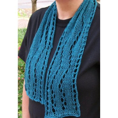 """The Long and Winding Road scarf (5"""" x 40"""")"""