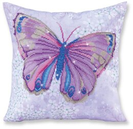 Diamond Dotz Papillon Mauve Pillow Diamond Dotz Kit