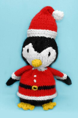 Christmas Santa Penguin
