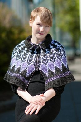 Thorn Rose poncho