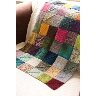 End-less Squares Blanket