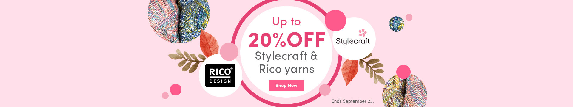LC Marketing - Up to 20% off Stylecraft & Rico