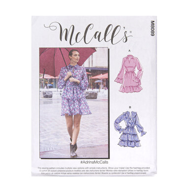 McCall's Misses' Dresses M8089 - Sewing Pattern