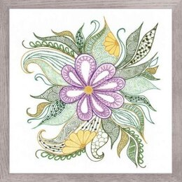 Riolis Lovely Flower Embroidery Kit - Multi