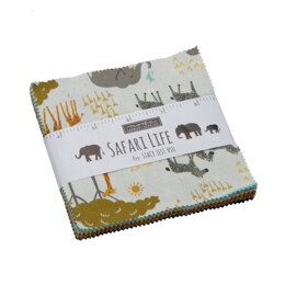 Moda Fabrics Safari Life 5in Charm Pack