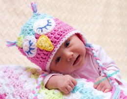 Crochet Owl Hat Pattern By KJD