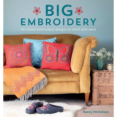 Big Embroidery - 20 Crewel Embroidery Designs by Sewandso