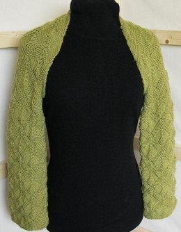 Mitred Square Shrug 015