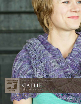 Callie Shawl in Juniper Moon Farm Findley DK Dappled