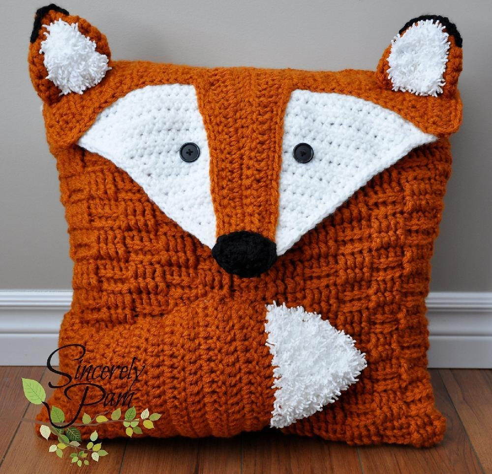 Felix the fox pillow coversleepover bag crochet pattern by felix the fox pillow coversleepover bag crochet pattern by sincerely pam knitting patterns loveknitting bankloansurffo Choice Image