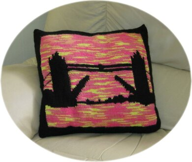 Tower Bridge Cushion