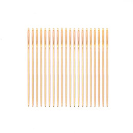 Permin Size 28 Gold Cross Stitch Needles(20)