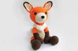 Amigurumi Crochet Fox Pattern