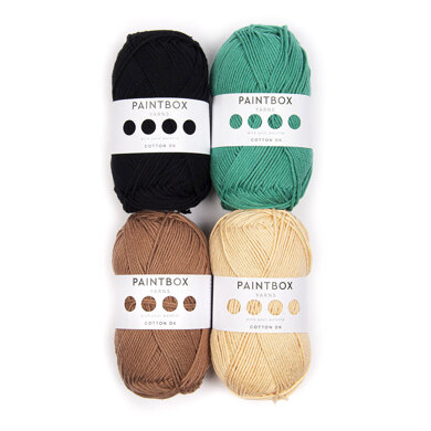 Paintbox Yarns Meghan Markle Doll 4 Ball Colour Pack