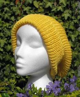 THE SUPER SLOUCH BEANIE HAT KNITTING PATTERN - MADMONKEYKNITS