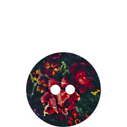Rose Coconut 30mm 2-Hole Button