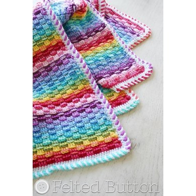 Basket of Rainbows Blanket