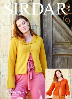 Jackets in Sirdar Country Style DK - 8226 - Downloadable PDF