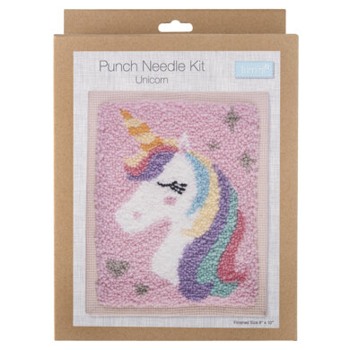 Trimits Punch Needle Kit: Unicorn