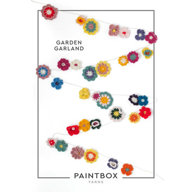 """""""Garden Garland"""" : Accessory Crochet Pattern for Home in Paintbox Yarns DK 