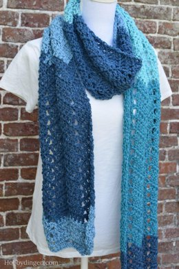 The Waterfall Scarf