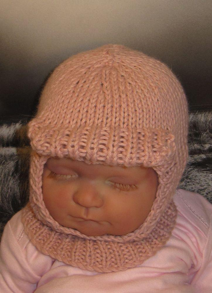 Baby Soft Peak Balaclava Knitting Pattern By Madmonkeyknits