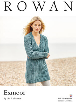 75afa13f2 Exmoor Sweater in Rowan Hemp Tweed - D108 - Downloadable PDF