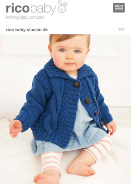 Babies' Cardigan in Rico Baby Classic DK - 197
