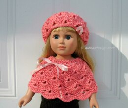 Pink Hat and Poncho
